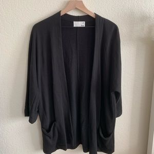 """Zlata"" Aritzia Wilfred Black Cardigan"